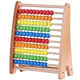 Jacootoys - Cornice in legno per conteggio abacus, giocattoli educativi, perline arcobalen...