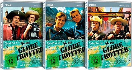 Die Globetrotter - Gesamtedition / Die komplette Serie auf 6 DVDs (Pidax Serien-Klassiker)