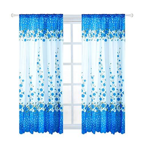 cortinas cortas modernas