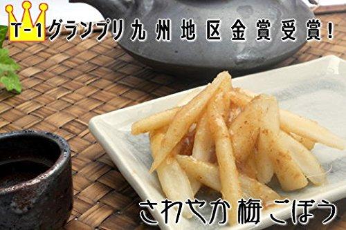 おおすみ食品株式会社 お漬物 さわやか梅ごぼう(国産)150g 鹿児島