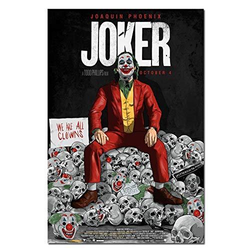 yaofale Sin Marco Movie Joker Silk Poster Joker Origin Movie Prints s Wall Art Decor Pictures Joaquin Phoenix Carteles 50x75cm