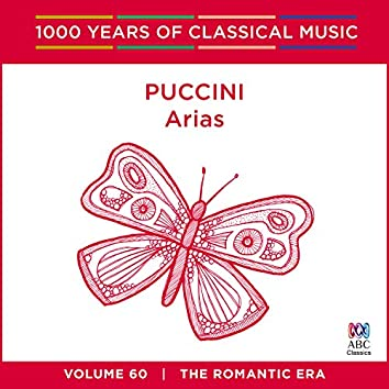Puccini: Arias (1000 Years of Classical Music, Vol. 60)