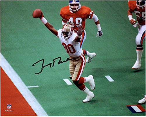 Jerry Rice San Francisco 49ers Autographed 8