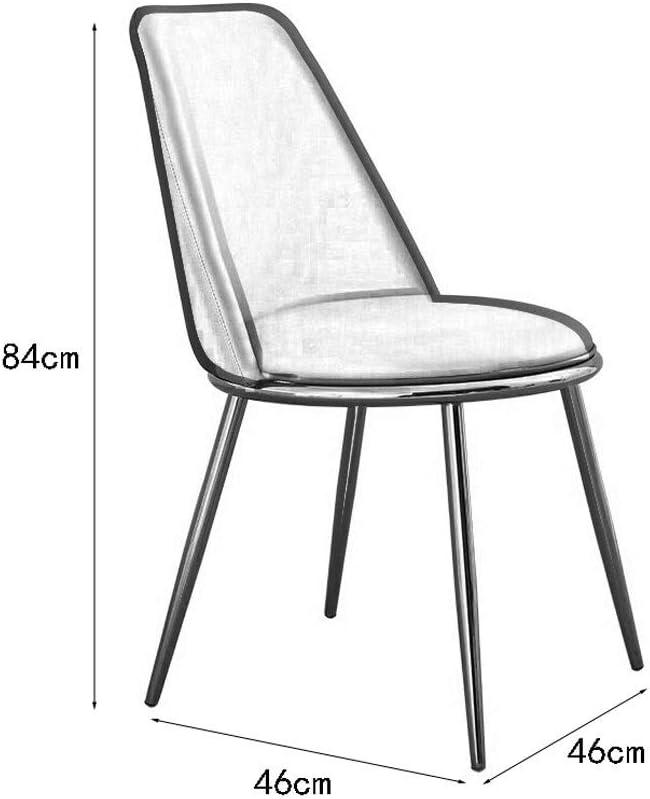 JU FU Président, CHAISE, Chaise longue, présidente Café, Restaurant président, Simple président nordique, chaise d'ordinateur, 2 couleurs disponibles @@ (Color : B) B