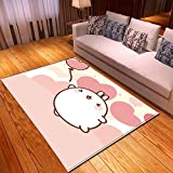LGXINGLIyidian Casa Tappeto Modello di Arte del Fumetto Anime Classico Tappeto Morbido Antiscivolo per La Decorazione della Casa con Stampa 3D T-519K 180X200Cm
