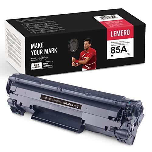 LEMERO Compatibile HP 85A CE285A Cartucce di Toner per HP Laserjet P1102W M1212NF MFP M1132 M1210 M1130 M1217NFW,1xNero