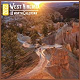 West Virginia Calendar 2022: 18 Month Calendar West Virginia, Square Calendar 2022, Cute Gift Idea For West Virginia Lovers Women & Men, Size 8.5 x 8.5 Inch Monthly