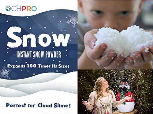 OchPro Innovations Instant Snow Powder for Slime - Makes 5 Gallons - Premium Fake Snow Perfect for Cloud Slime - Safe and Non-Toxic