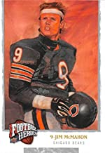 Jim McMahon football card (Chicago Bears 1985 Super Bowl Champ) 2008 Upper Deck Heroes #228