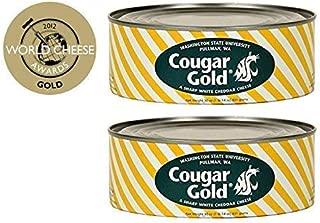 WSU Creamery Wazzu Cougar Gold Sharp White Cheddar Cheese (30oz Can) (2-Can Pack)