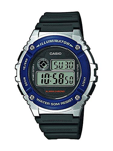 Casio Collection Unisex Armbanduhr W-216H-2AVEF