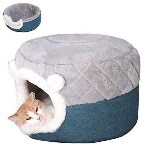 ZWW Kattenhol, gesloten multifunctioneel kattenhuis Villa vier seizoenen universeel diep slaapbank met matras