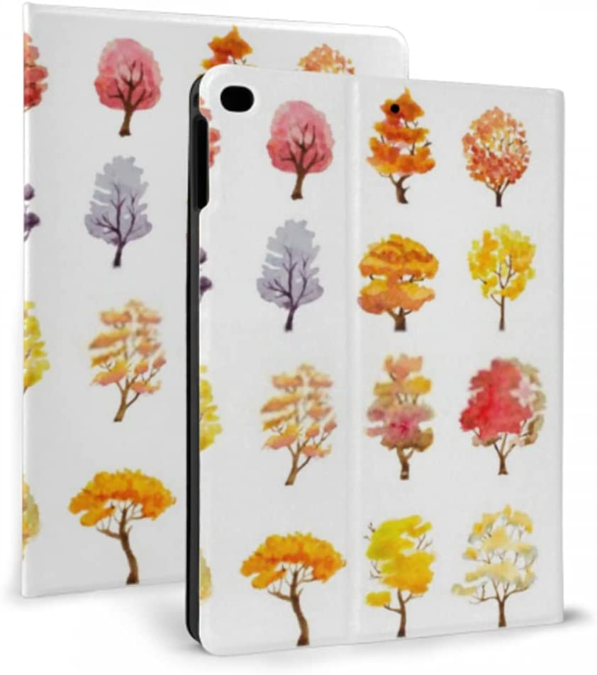 Case for ipad 2017 2018 air 1 2 Hand Dra Set Trees Outlet ☆ Free Shipping Autumn 2021 model