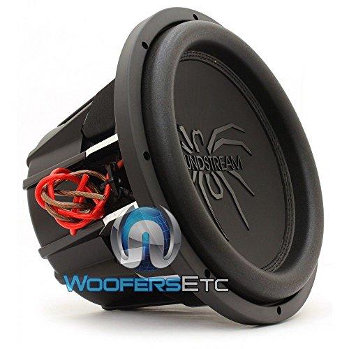 "Soundstream 2000W Peak (1000W RMS) 12"" Tarantula Dual 4-Ohm Car Subwoofer"
