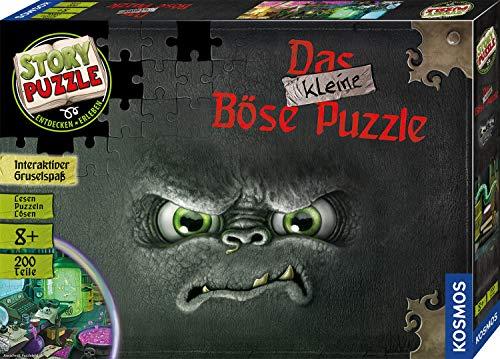 Kosmos 680794 200 Teile-Das kleine Böse Buch Story Puzzle, Silver