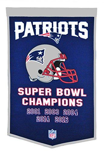 Winning Streak NFL New England Patriots Dynasty Banner