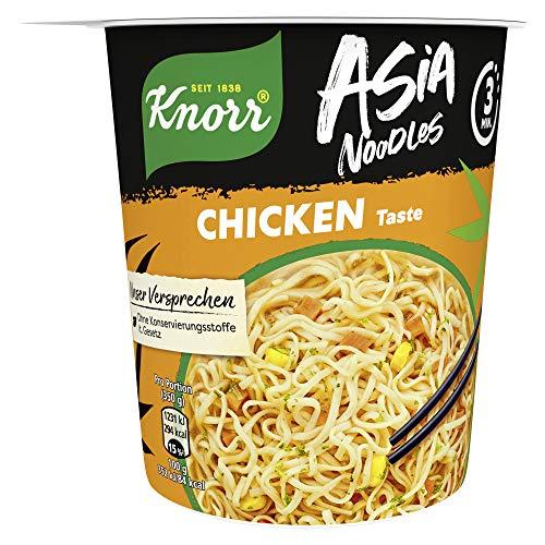 Knorr Asia Noodles Chicken Taste, 1 Portion ( 1 x 65g )