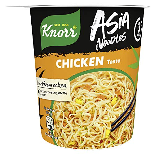 Knorr Asia Noodles Chicken Taste, 1 Portion ( 1 x 65g )