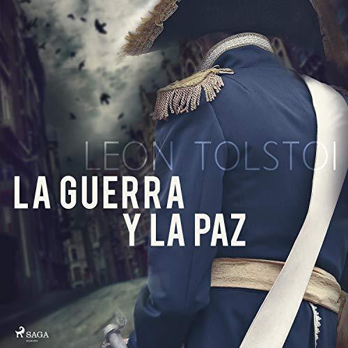 Diseño de la portada del título La guerra y la paz
