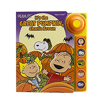 Peanuts - It's the Great Pumpkin, Charlie Brown - Doorbell Sound Book - PI Kids