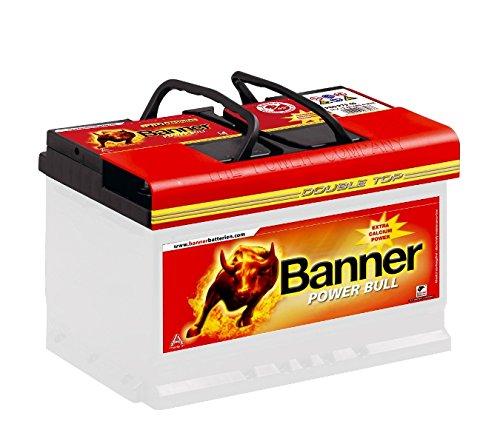 Banner Autobatterie 75AH Power Bull Professional ersetzt 72Ah 74Ah