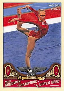 56fdded506 Nastia Liukin trading card (Gymnastics) 2011 Upper Deck Goodwin Champions   27