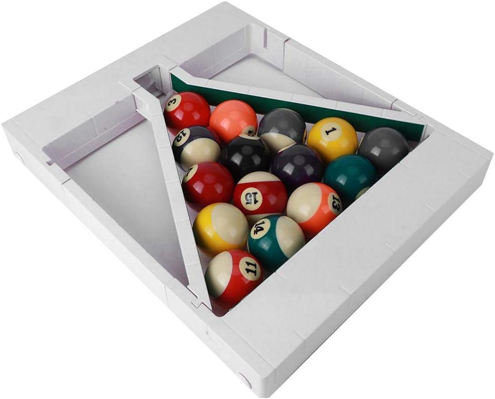 01 Free shipping Portable Billiard Triangular Profe Great interest Ball Rack Frame