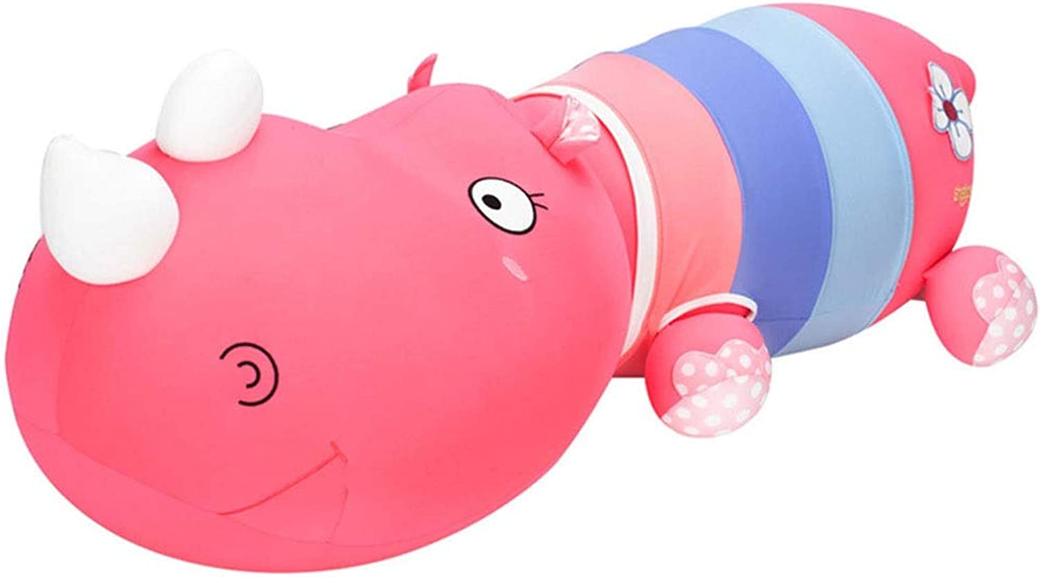Pillows Plush Toys Mascots Cartoon Dolls Safe And Healthy Materials Office Cushions Bed Pillows Romantic Dating (color   Pink, Size   M)