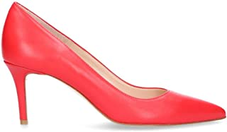 DI LUNA Luxury Fashion Womens 888RED Red Pumps | Season Outlet