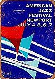 YASMINE HANCOCK American Jazz Festival Metall Plaque Zinn