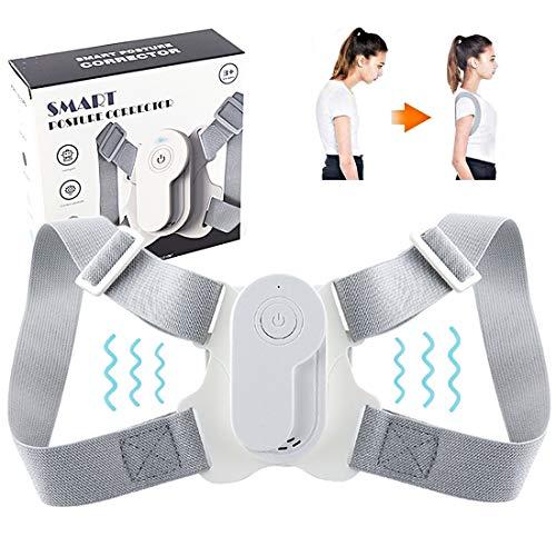 N/0 Smart Haltungskorrektur - Rücken Geradehalter mit Abnehmbarem Sensor - Geradehalter zur Haltungskorrektur Rückenstütze gegen Rückenschmerzen für Kinder Damen und Herren