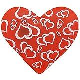4er Set Taschenwärmer in Herzform, Herz, Fingerwärmer, gegen kalte Hände im Winter - 3