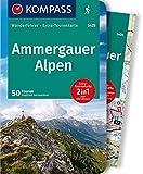 KV WF 5425 Ammergauer Alpen: Wanderführer mit Extra-Tourenkarte 1:30.000, 50 Touren, GPX-Daten zum Download. (KOMPASS-Wanderführer)
