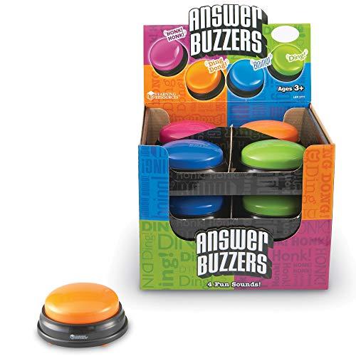 Learning Resources LER3777 Buzzer, Set mit 12 Stück