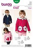 Burda B9425 Patron de Couture Veste Enfant 19 x 13 cm