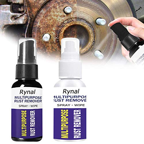 2Pcs Rustout Instant Remover Spray Multipurpose Car Maintenance Cleaning Derusting Spray Rust Stain Remover for Car Detailing