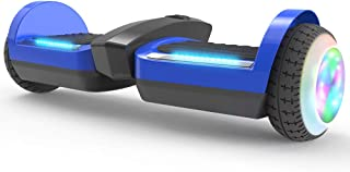 HOVERSTAR Hoverboard Certified HS2.0 Hoverboard with Glowing Water Vapor Jets, Space Sound Effect & LED Flash Wheel Self Balancing Wheel Electric Scooter