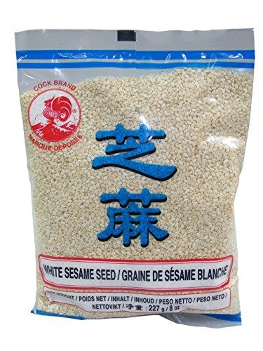 Sesamsamen, weiss 227g Sesam COCK White Sesame Seeds