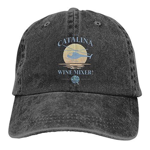 Latoshachase Catalina Wine Mixer Baseball Caps Mens Womens Camping Adult Adjustable Trucker Dad Hats Cowboy Hat Casquette Black