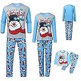 Family Christmas PJs Matching Sets Plaid Long Sleeve Tee and Pants Matching Family Christmas Pajamas for Boys Girls Men Women (Style-2, 3XL(Dad))