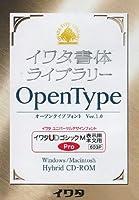 イワタ書体ライブラリーOpenType(Pro版) イワタUDゴシックM 表示用/本文用