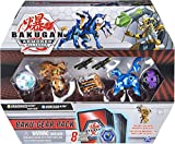 Bakugan Baku-Gear 4-Pack, Dragonoid Ultra with Baku-Gear and Howlkor Ultra, Collectible Action Figures, Kids Toys for Boys