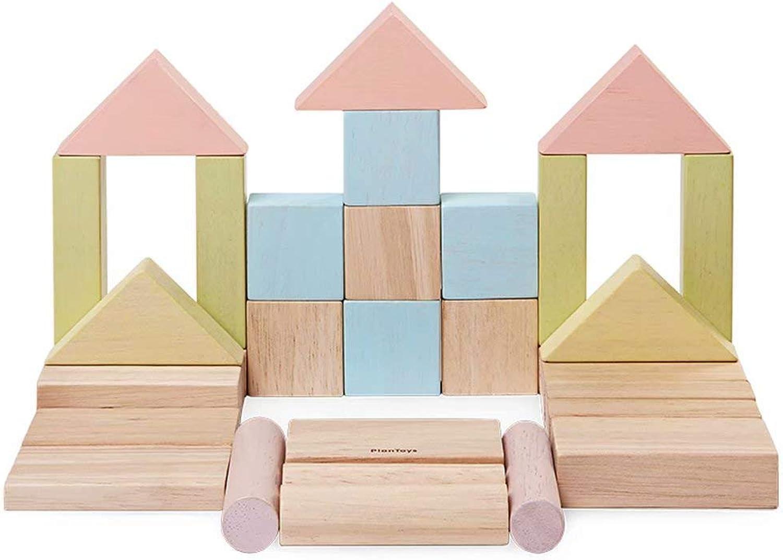 nueva marca GG-Kinderspielzeug Grandes Juegos de Bloques de construcción de Madera Madera Madera para Niños, Juguetes educativos para apilar, 40 Piezas  venta caliente en línea