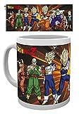 Dragon Ball Z, Z Fighters, taza de café de cerámica, té y cacao con asa, regalo de cumpleaños