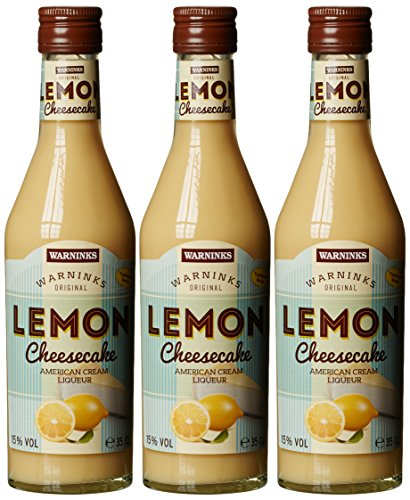 Warninks Warninks Lemon Cheesecake American Cream Liqueur  Liköre  (3 x 0.35 l)