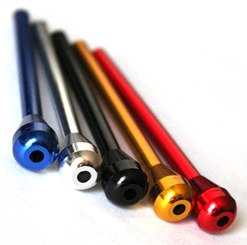 5 x Metal Snuff Sniffer Snorter Nasal Straw Tube Mixed Color by TitanOwl …