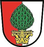 U24 Aufkleber Augsburg Wappen Autoaufkleber Sticker Konturschnitt