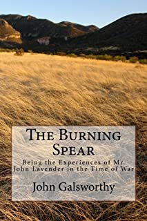 The Burning Spear: Being the Experiences of Mr. John Lavender in the Time of War