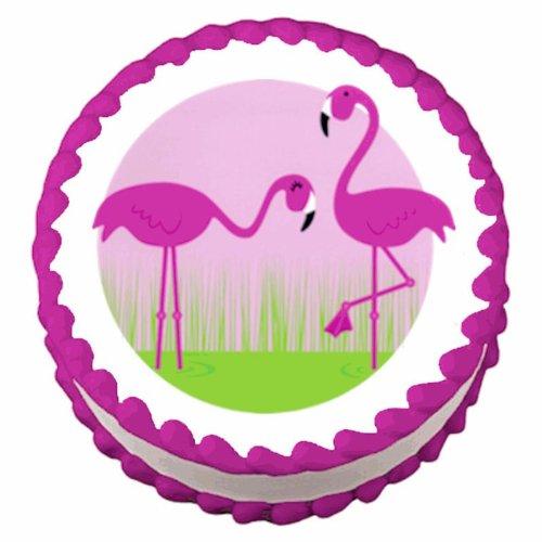Pink Flamingos ~ Edible Cake / Cupcake Topper