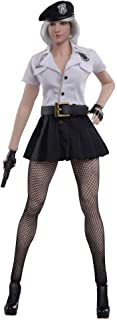 Phicen Policewoman Skirt Seamless Stockings Set (White)